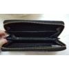 Kép 4/4 - Kígyóbőr mintás női pénztárca fekete