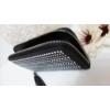 Kép 2/3 - Strasszos fekete pénztárca bojt dísszel