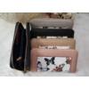 Kép 5/5 - Pillangó mintás női pénztárca rózsaszín