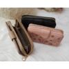 Kép 6/6 - Nyomott pillangó mintás elegáns női pénztárca barna
