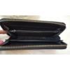 Kép 4/4 - Csipke virág mintás női pénztárca fekete