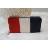 Kép 3/4 - Kék fehér piros csíkos női pénztárca