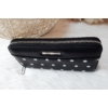 Kép 2/5 - Pöttyös mintás női pénztárca fekete