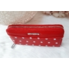 Kép 2/5 - Pöttyös mintás női pénztárca piros