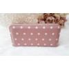 Kép 3/5 - Pöttyös mintás női pénztárca rózsaszín