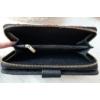 Kép 5/6 - Pillangó mintás vastag nagy méretű női pénztárca fekete