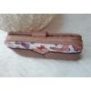 Kép 2/6 - Pillangó mintás vastag nagy méretű női pénztárca lilás