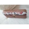 Kép 2/5 - Pillangó mintás női pénztárca lilás