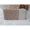 Kép 3/5 - Csipke virág mintás női pénztárca szivecske dísszel bézs