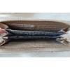 Kép 4/5 - Masni díszes csipke virág mintás női pénztárca barna