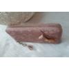 Kép 2/5 - Masni díszes csipke virág mintás női pénztárca rózsaszín