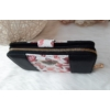 Kép 9/12 - Black flower II táska pénztárca szett