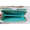 Kép 5/6 - Apró virág mintás vastag nagy méretű női pénztárca zöld