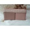 Kép 1/5 - Csipke virág mintás egyszínű női pénztárca rózsaszín
