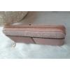 Kép 2/5 - Csipke virág mintás egyszínű női pénztárca rózsaszín