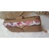 Kép 9/12 - Brown flower táska pénztárca szett