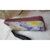 Kép 2/4 - Virág mintás elegáns női pénztárca lila