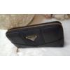 Kép 2/5 - Egyszínű elegáns női pénztárca fekete