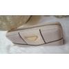 Kép 2/5 - Egyszínű elegáns női pénztárca vajszínű