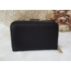 Kép 3/6 - Nyomott pillangó mintás elegáns női pénztárca fekete