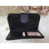 Kép 4/6 - Nyomott pillangó mintás elegáns női pénztárca fekete