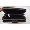 Kép 5/6 - Nyomott pillangó mintás elegáns női pénztárca fekete