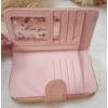 Kép 4/6 - Nyomott pillangó mintás elegáns női pénztárca rózsaszín