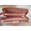 Kép 5/6 - Nyomott pillangó mintás elegáns női pénztárca rózsaszín