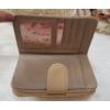 Kép 4/6 - Nyomott pillangó mintás elegáns női pénztárca barna