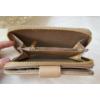 Kép 5/6 - Nyomott pillangó mintás elegáns női pénztárca barna