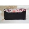 Kép 1/5 - Pillangó mintás női pénztárca fekete