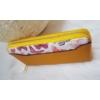 Kép 2/5 - Pillangó mintás női pénztárca sárga