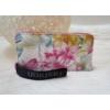 Kép 1/4 - Virág mintás elegáns női pénztárca rózsaszín