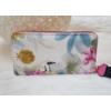 Kép 3/4 - Virág mintás elegáns női pénztárca rózsaszín
