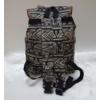 Kép 4/6 - Elefánt mintás szövet hátitáska fekete