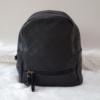 Kép 1/5 - Varrott rombusz mintás női hátitáska fekete
