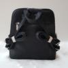Kép 4/5 - Silvia Rosa merev falú elegáns hátitáska fekete