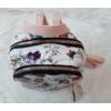 Kép 6/7 - Kis méretű virág mintás elegáns hátitáska rózsaszín