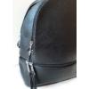 Kép 2/7 - Egyszínű elegáns női hátitáska fekete
