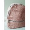 Kép 2/7 - Csipke virág mintás elegáns női hátitáska rózsaszín