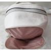 Kép 6/7 - Flamingo virág mintás elegáns női hátitáska fehér