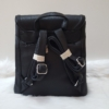 Kép 5/6 - Silvia Rosa merev falú elegáns hátitáska fekete