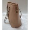 Kép 3/6 - Női táska levehető medál dísszel barna