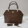Kép 2/2 - Brown elegant táska pénztárca szett