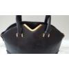 Kép 2/5 - V díszes merev falú elegáns női táska fekete