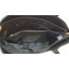 Kép 5/5 - V díszes merev falú elegáns női táska fekete