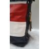Kép 2/5 - Kék fehér piros csíkos női válltáska