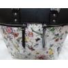 Kép 4/12 - Black flower II táska pénztárca szett