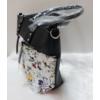 Kép 5/12 - Black flower II táska pénztárca szett