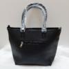 Kép 6/12 - Black flower II táska pénztárca szett